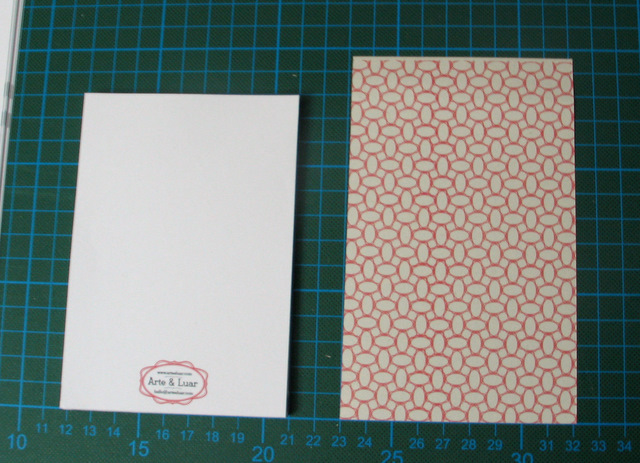 size difference of pages and cover of your handmade notepad - tutorial