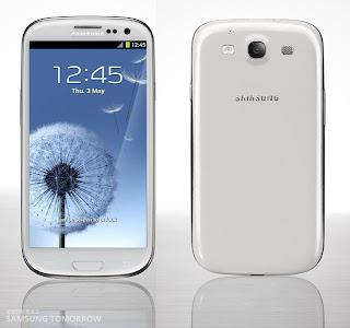 Samsung GALAXY S III Spesifikasi dan Harga Samsung Galaxy S 3