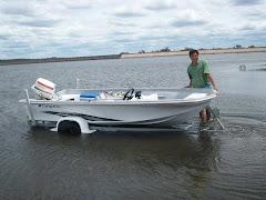 Marcelo Luna (Guía de pesca Cruz del eje)
