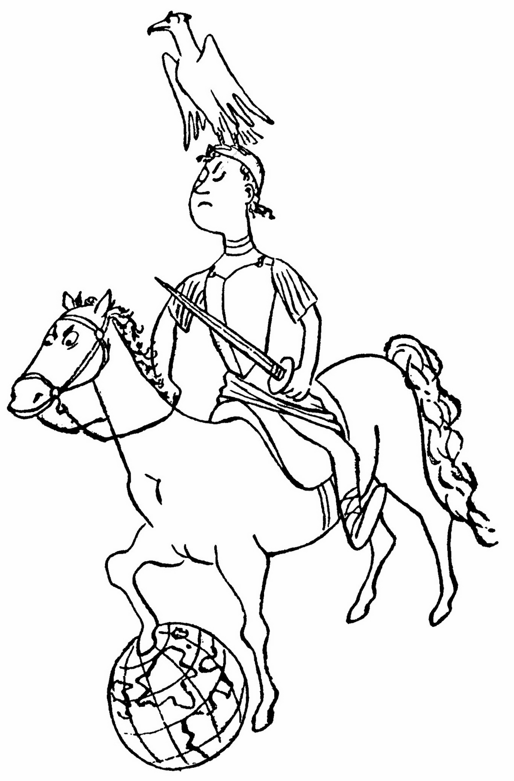 alexander the great coloring pages - photo#14