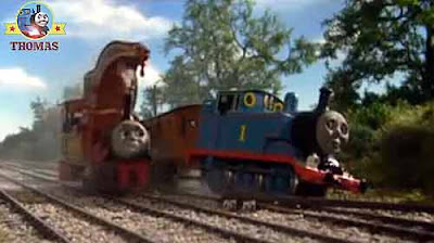Steam tank engine Harvey the crane good friends Thomas tank Annie & Clarabel passenger coachers