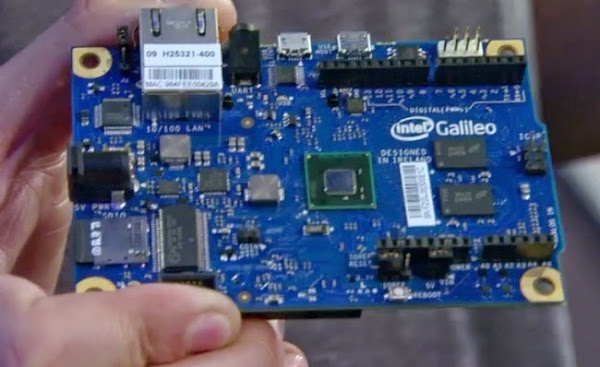 Intel's Galileo developer board with a Quark processor