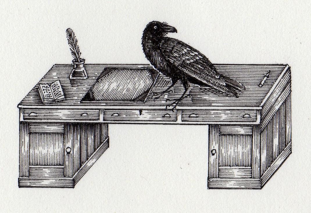 john vernon lord  the raven and the writing desk  rh   johnvernonlord blogspot com