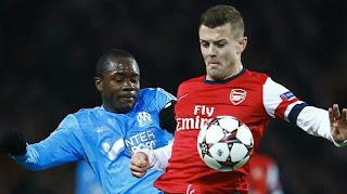Arsenal 2 0 Marseille -- Tous les buts