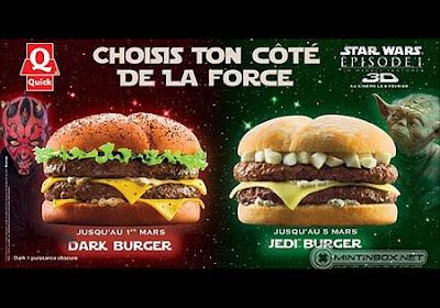 黑色漢堡包