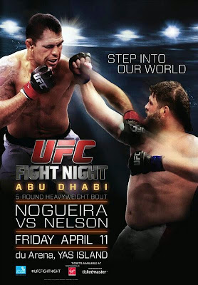 UFC ABU DHABI POSTER UFC Fight Night: Nogueira vs. Nelson – HDTV AVI e RMVB (2014)