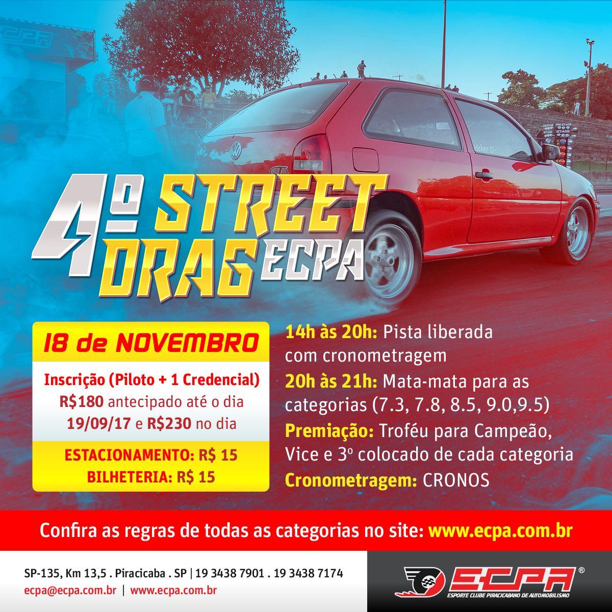 4° Street Drag ECPA