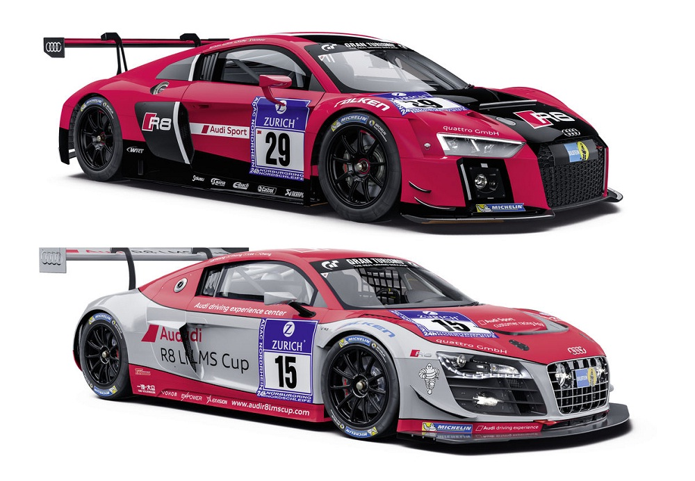 2015 Audi R8 LMS vs Audi R8 LMS ultra: Audi drivers talk about the differences ~ Audi Motorsport ...