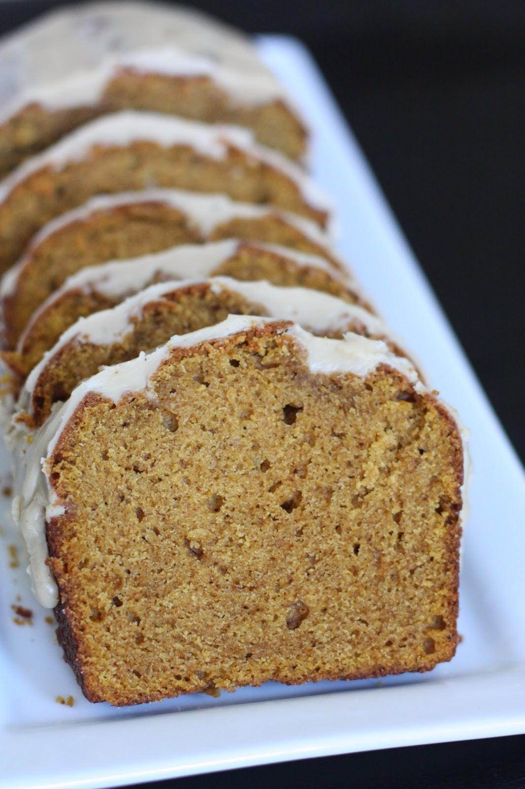 "Pumpkin Spice Bread with Brown Butter Glaze: Sometimes a ""can"" is a..."