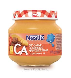 Papinhas Nestlé