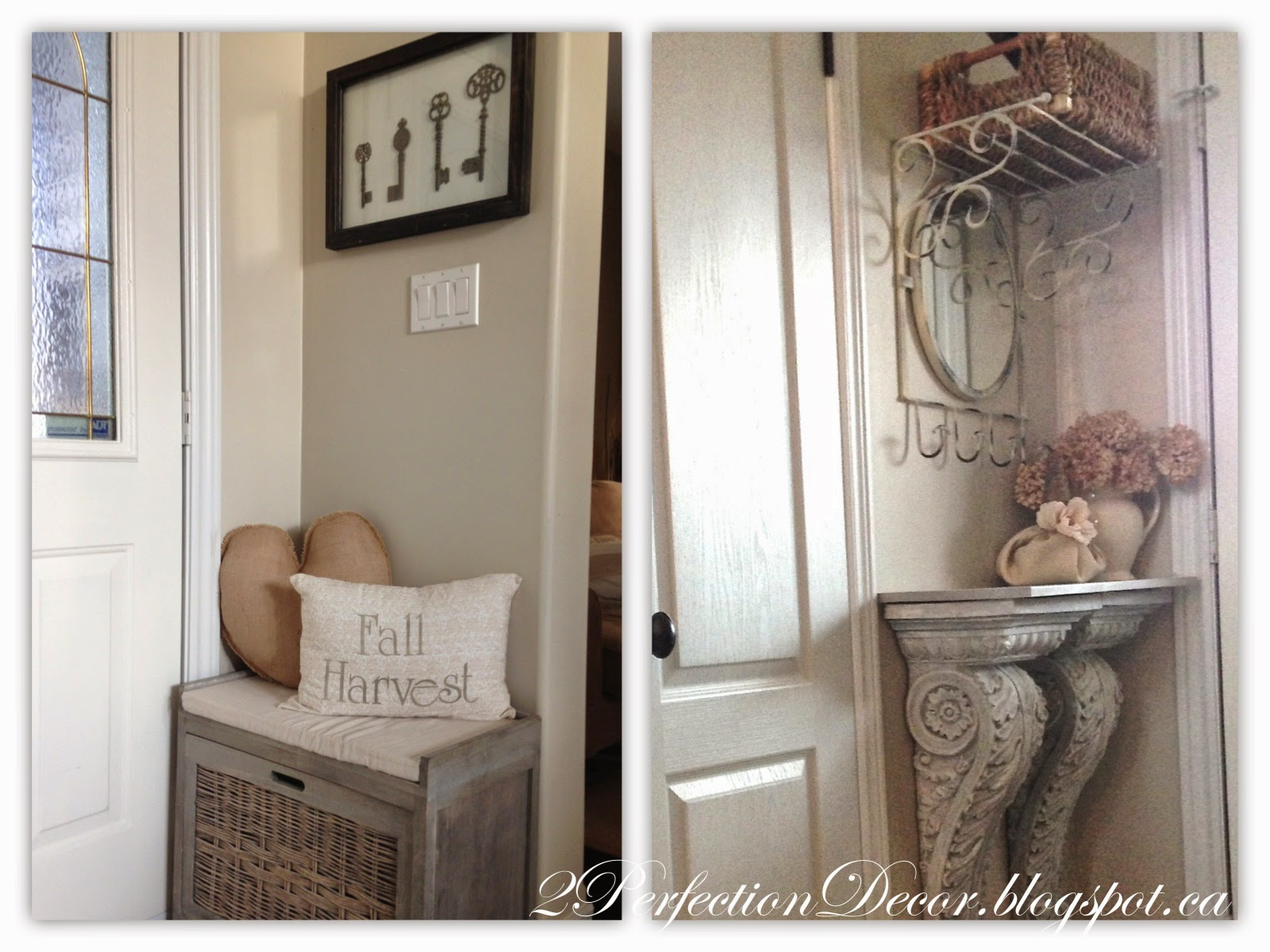 2perfection decor our entryway foyer reveal monday november 10 2014