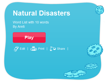 Natural Disasters Quizlet