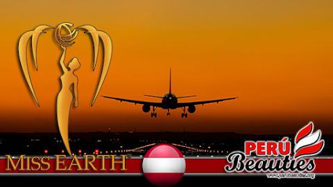 Candidatas llegan a Viena, Austria - Miss Earth 2015