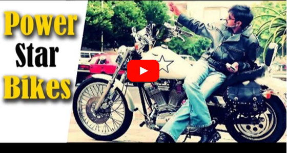 Pawan Kalyan use fashionable bikes in His Movies