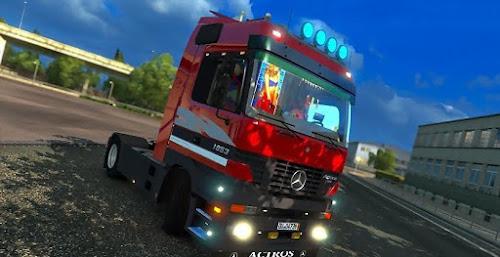ETS2 Caminhão - Mercedes Benz Actros MP1 Para V.1.26.X By: Klains Blinke