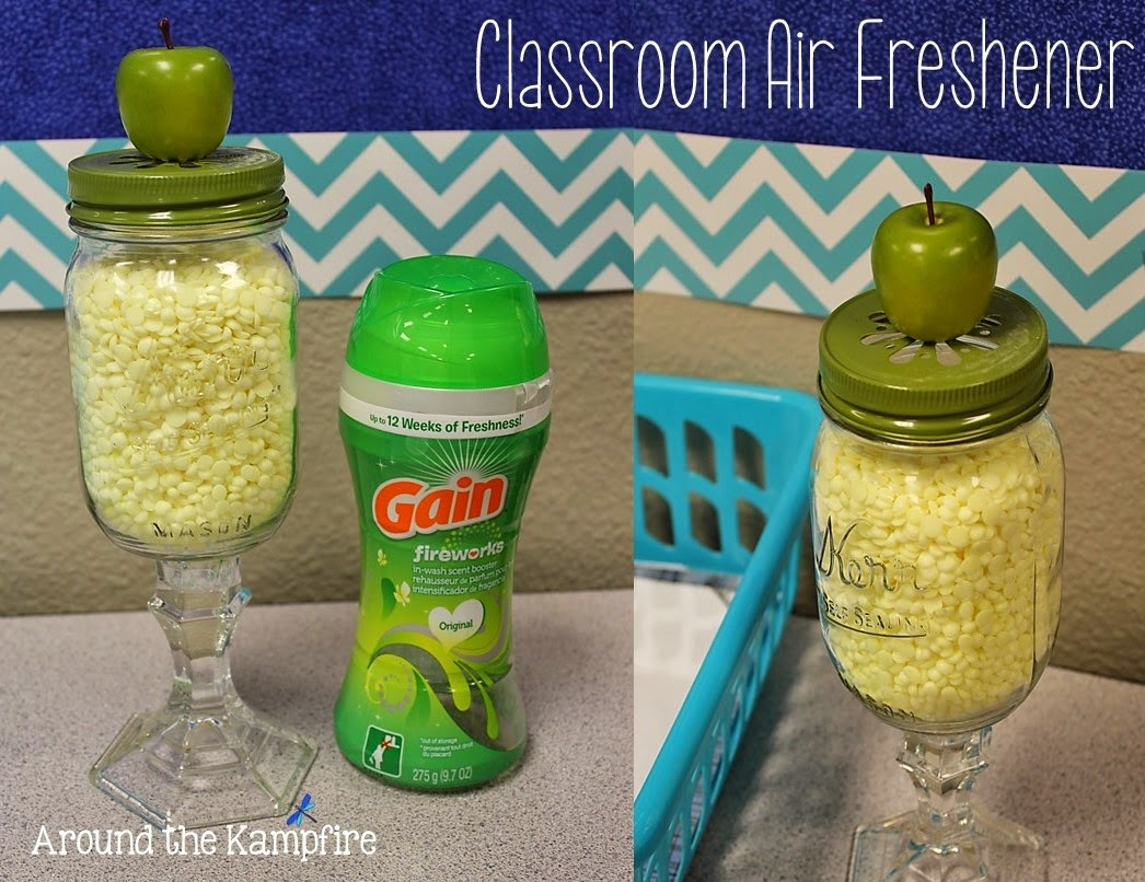 DIY air freshener for the classroom