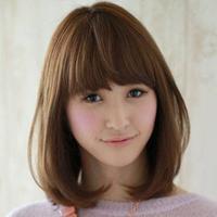 Model rambut Poni Untuk Wajah Berbentuk Kotak