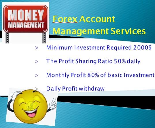 Forex account management service форекс центры банк