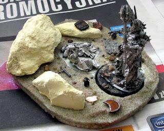 diorama sauron władca pierścieni