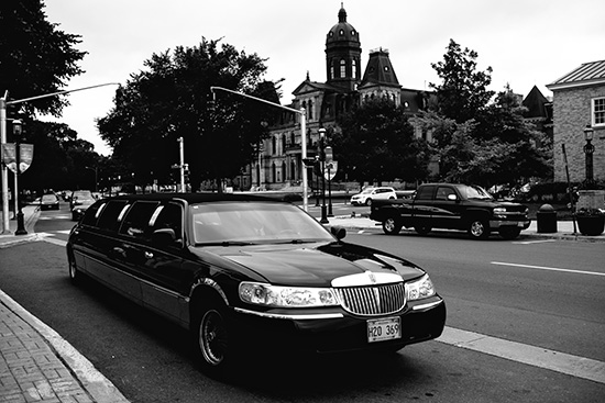 wedding / downtown fredericton / limo