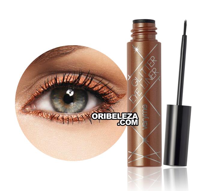 Eye Liner Glitter Very Me - Copper