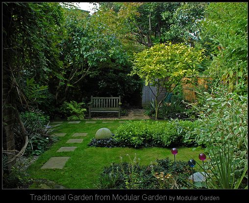 Traditional Garden Design Ideas