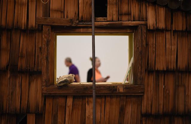 A window at Lacma