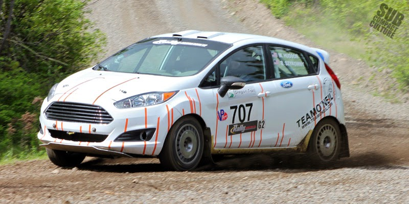 White Team O'Neil Ford Fiesta
