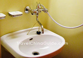 Tap water is not drinkable in China