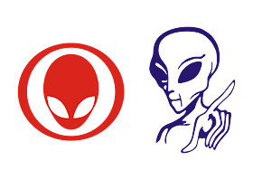 Alien Logo Vector download free