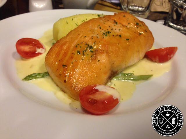 Kuppa Roastery and Cafe - Sauteed Salmon
