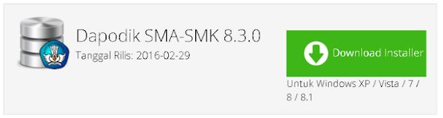 Link download Master Dapodik 8.3.0