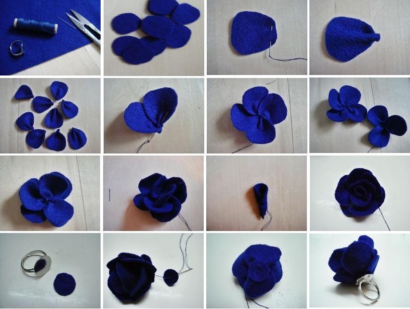 Cara Untuk Buat Bunga Kertas