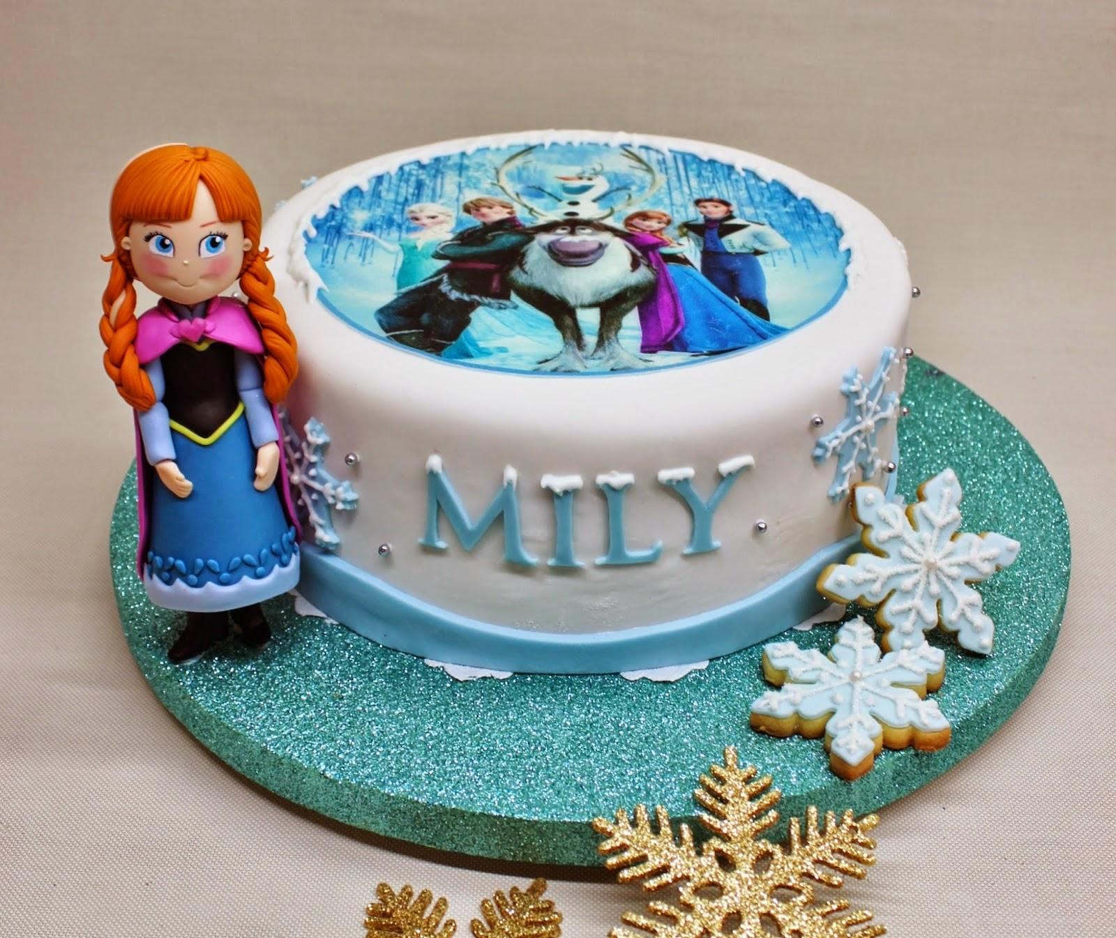 Tortas de Frozen, parte 2