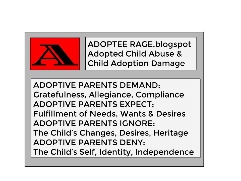 ADOPTED CHILD ABUSE