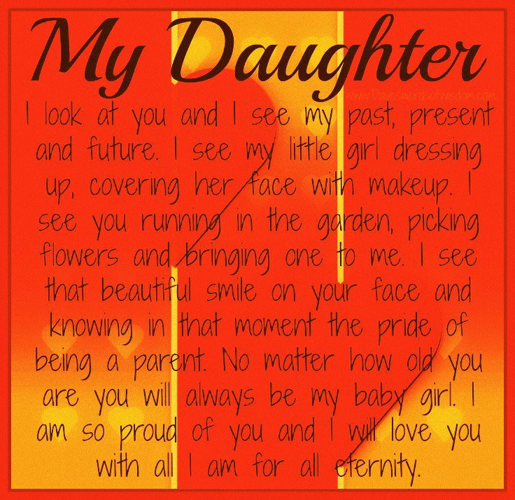 Proud Of My Daughter Quotes. QuotesGram I Am Proud Of My Daughter Quotes