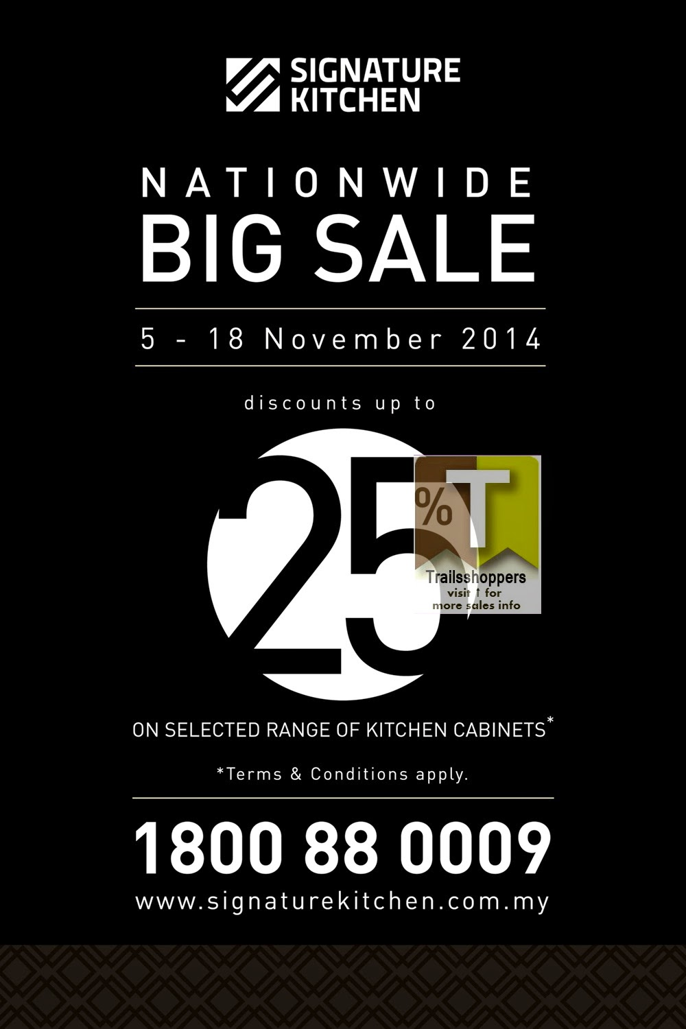 Signature Kitchen The Nationwide Big Sale offers
