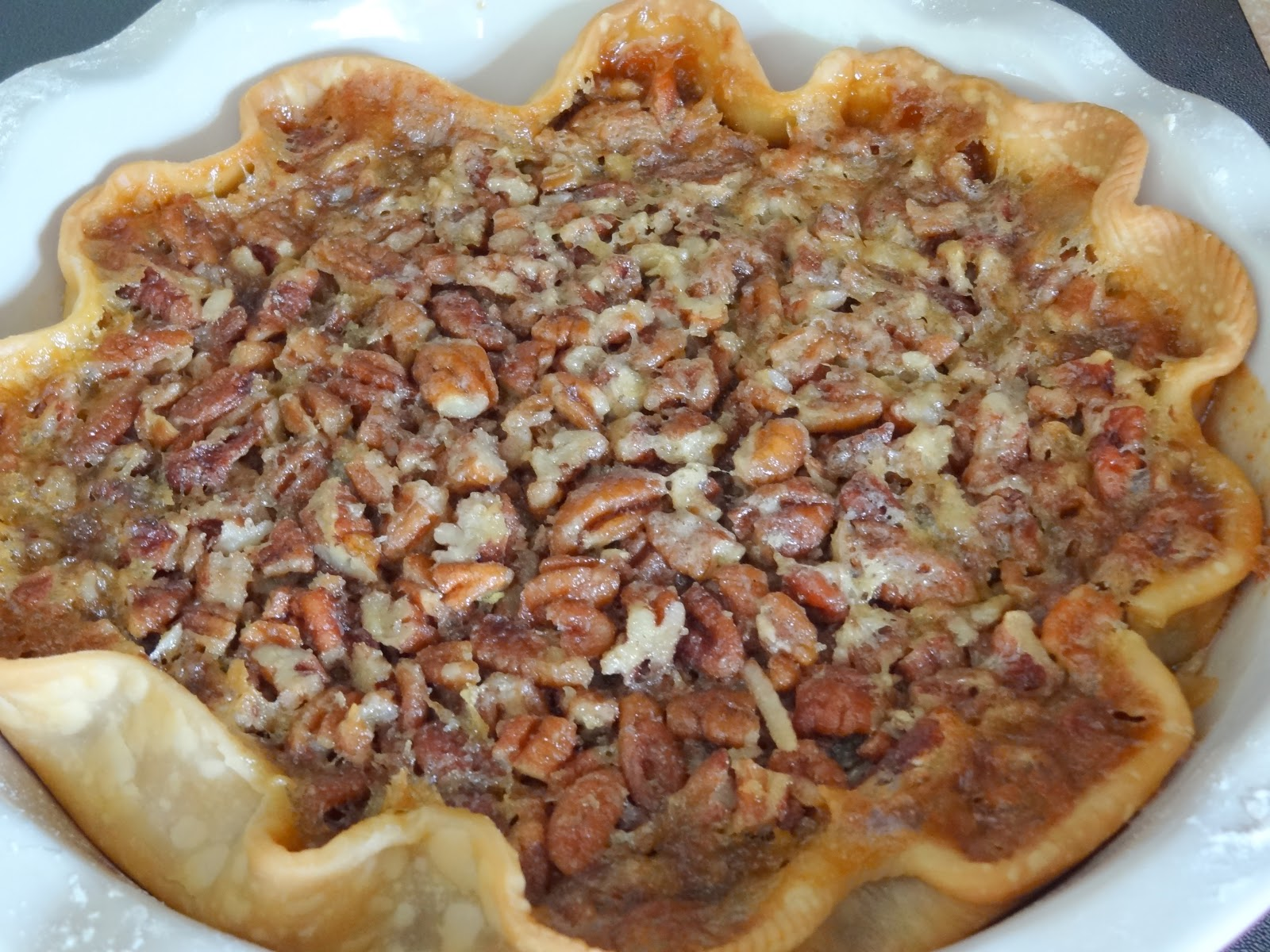 cooking with crystal: Pecan Pie