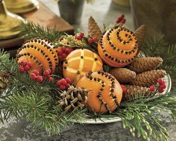 Christmas Craft Ideas Fragrant Oranges