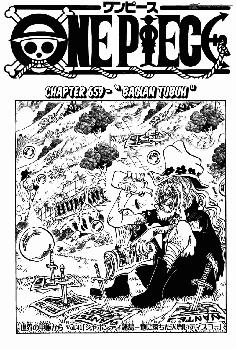 Baca Manga, Baca Komik, One Piece Chapter 659, One Piece 659 Bahasa Indonesia, One Piece 659 Online