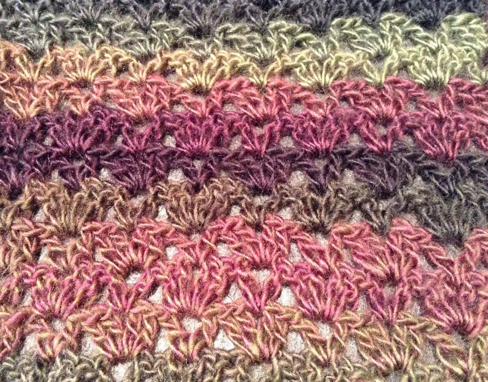 What I Make With My Hands - I Give With My Heart: Isar Scarf in Red ...