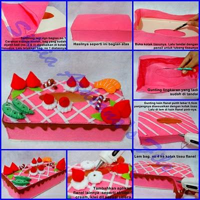 Untuk menambah inspirasi desain felt cake , dibawah ini saya sertakan ...