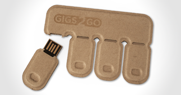 Gigs 2 Go Flash Drive Pack
