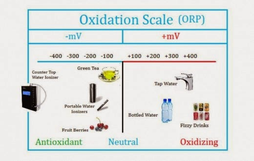 ORP, alkaline water, ionized water, what is orp
