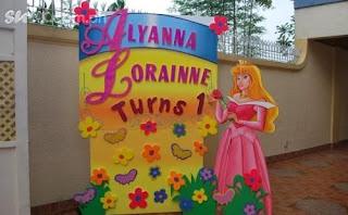 dekorasi styrofoam putri