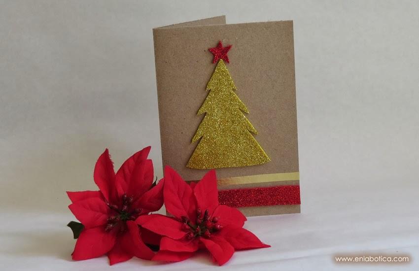 En la botica DIY tarjetas de navidad