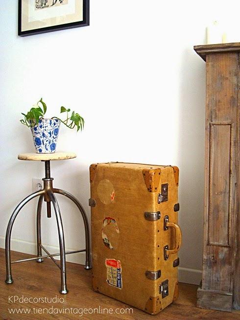 Kp tienda vintage online maletas antiguas para decorar - Cosas antiguas para decorar ...