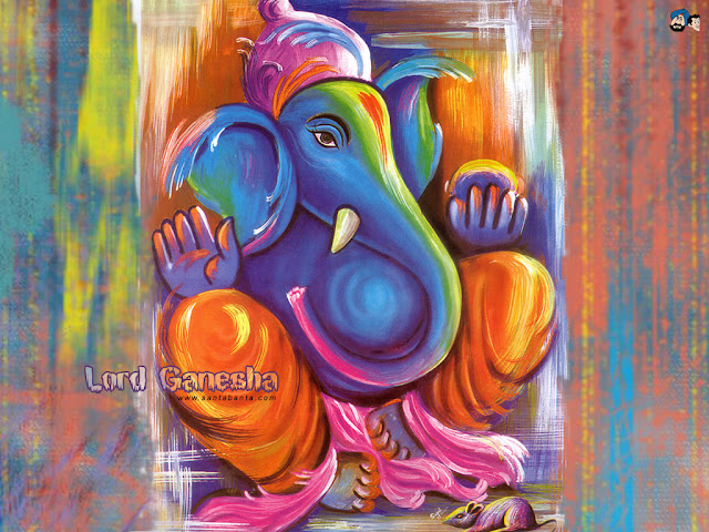 painting of lord ganesh