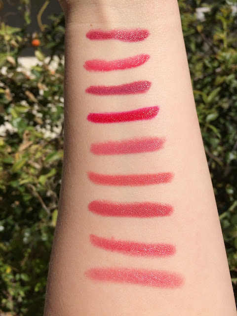 Tarte Holiday 2015 swatches