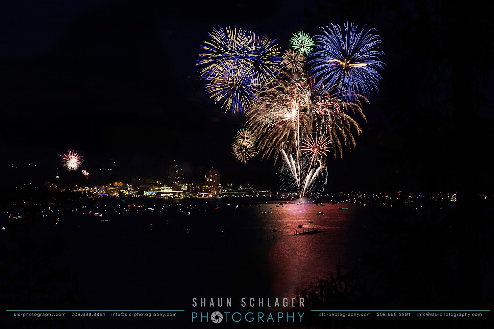 4th of July Fireworks Coeur d'Alene, Idaho
